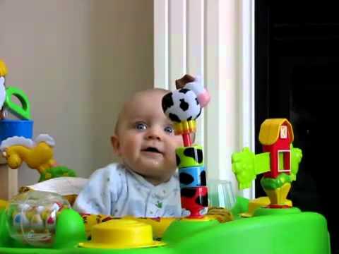 Ngôi Sao   Bé 5 tháng tuổi nổi tiếng với video hài hước