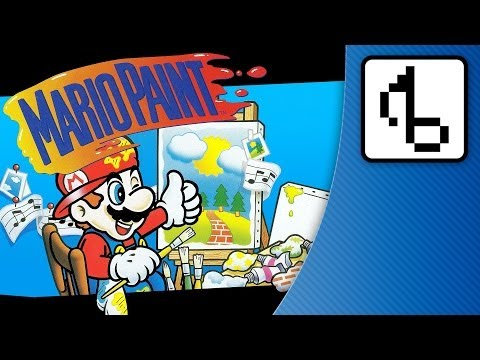 Mario Paint WITH LYRICS