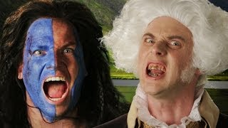 George Washington vs William Wallace. Epic Rap Battles of History