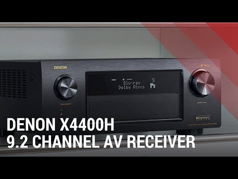 Denon AVR-X4400H 9.2 Channel AV Receiver with HEOS - Quick Review India