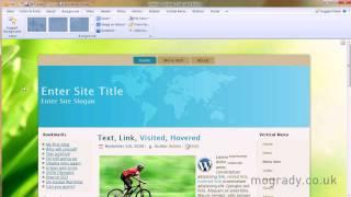 Artisteer 3 Theme Tutorials - WordPress, Drupal & Joomla etc