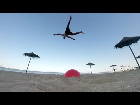 GoPro: Crazy Flips and Tricks on the Beaches of Spain