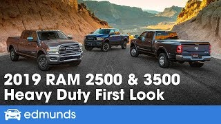 2019 Ram Heavy Duty 2500 and 3500 First Look | Can Lightning Strike Twice? | Edmunds
