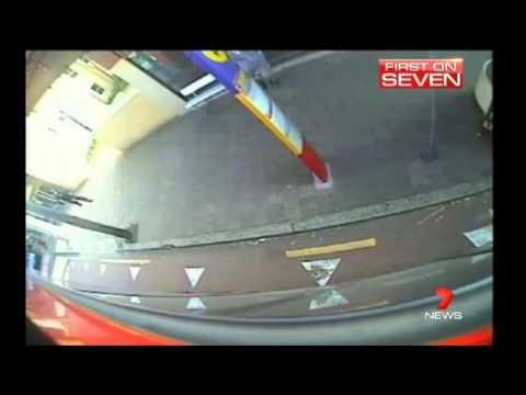 [Seven News Sydney] Sydney Buses security-cameras catching criminals - 24/4/2013