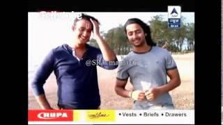 SBS 3RD AUGUST 2014 Saurabh Raaj Jain with shaheer