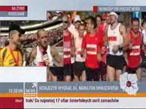 34. Maraton Warszawski, Polsat NEWS - Grzesiek + Michał (SFX)