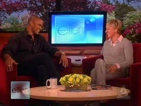 Shemar Moore on Ellen Video