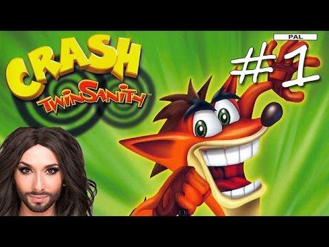 Прохождение Crash Twinsanity (PS2) #1 - N. Sanity Island