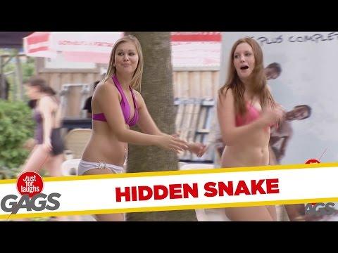 SCARY Hidden Snake Prank