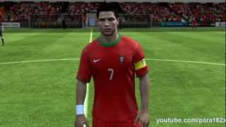 FIFA 13: Portugal Player Faces