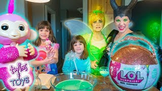 Maleficent STEALS Tinker Bell's Fairy Dust!!