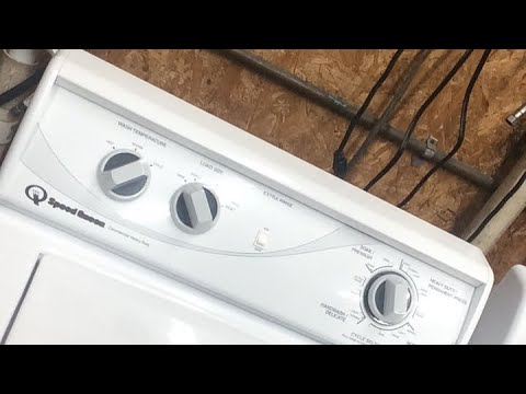 Increasing water level Speed Queen Washer AWN432SP113TW04