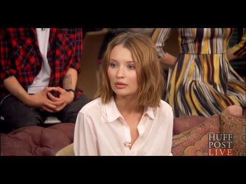 Emily Browning Talks