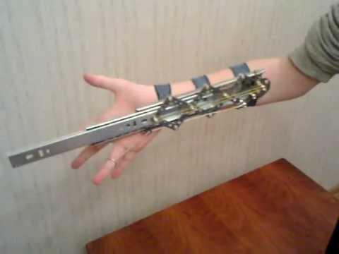 Как сделать Скрытый Клинок (нож) из Assassin's Creed