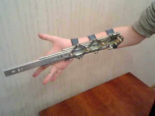 Складной меч своими руками 7