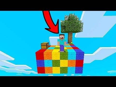 КАК ВЫЖИТЬ НУБУ НА РАДУЖНОМ ОСТРОВЕ В Майнкрафте! Minecraft Мультики Майнкрафт троллинг Нуб и Про