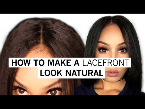 How To Make A Lacefront Wig Look Natural 2016   WowAfrican