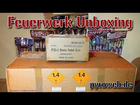 FEUERWERK-UNBOXING #1 | 180€ | Pyroweb.de