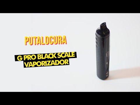 Black Scale G Pro Vaporizador   Unboxing + Uso   PutaLocura