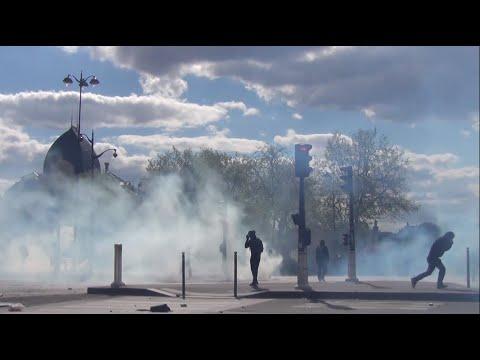 Manifestation offensive contre la Loi Travail - Paris - 28/04/16