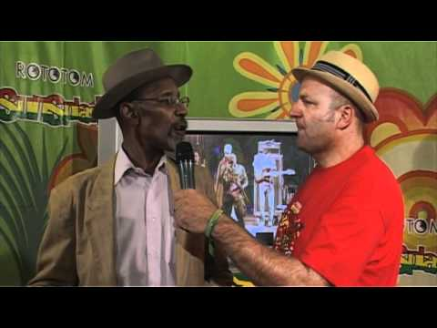 Linton Kwesi Johnson - Rototom Sunsplash, Entrevista