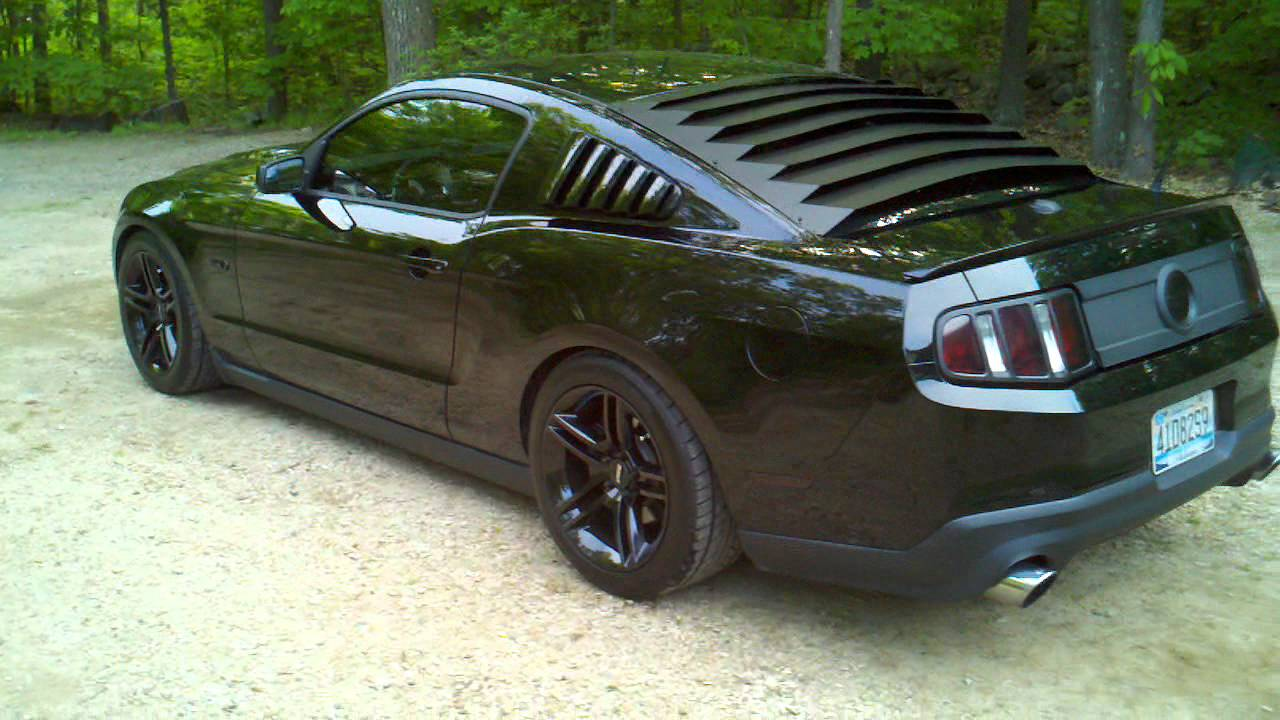 2011 mustang gt premium youtube for 2000 mustang rear window louvers