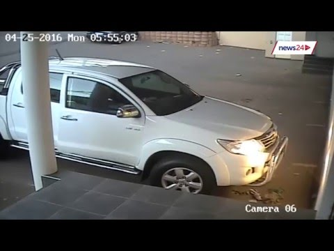 WATCH: CCTV shows early morning Durban hijacking