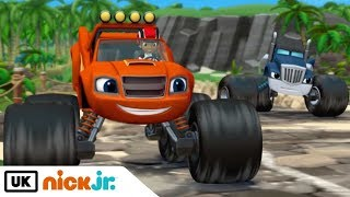 Blaze and the Monster Machines | Dragon Island Duel | Nick Jr. UK