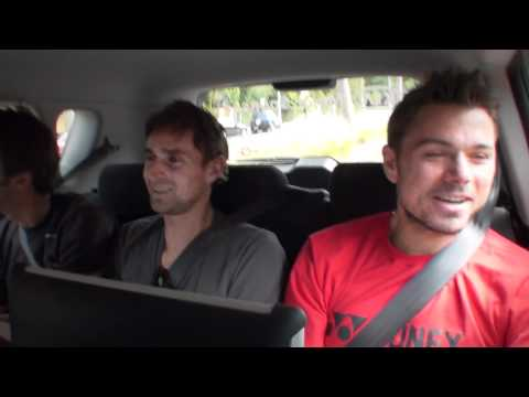 Stanislas Wawrinka -- The Open Drive: Australian Open 2012 brought to you by Kia