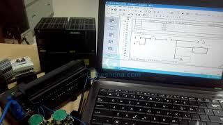How To Control Star Delta Motor Starter Using PLC - Bangla