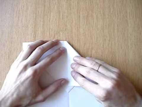 Посмотреть ролик - Бумажный самолётик с острым носом видео в хорошем качест