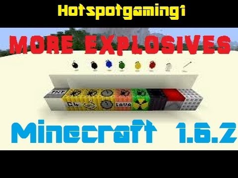 How to Install the More Explosives mod for Minecraft 1.6.2 (Mac)