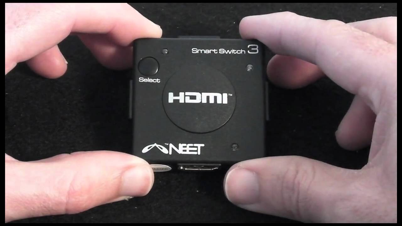 Neet Cables 3 Port Hdmi Auto Switch Review Youtube