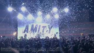 """Open Letter"" - The Amity Affliction (live at the Riverstage, Brisbane, Australia 24/6/17)"