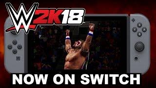 WWE 2K18 Nintendo Switch Launch Trailer