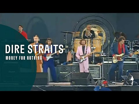 Dire Straits - Money For Nothing Live At Knebworth