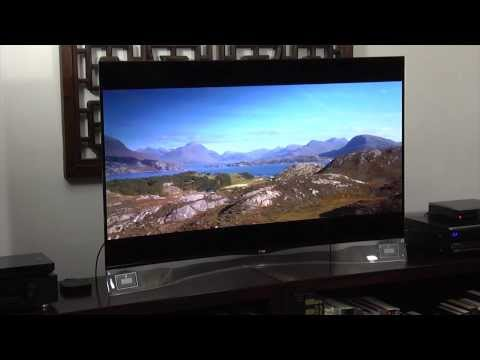 LG EA980 55-inch Curved 1080p OLED TV Review