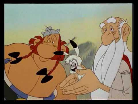 asterix obelix intro di asterix e la grande guerra youtube. Black Bedroom Furniture Sets. Home Design Ideas