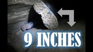 Not for the Claustrophobic | 9 Inch Cave | Spelunking - Caving