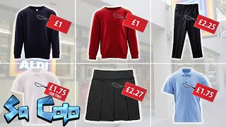 Aldi launches £5 uniform for the new school year
