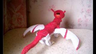 3d Origami Dragon (lithuania).wmv