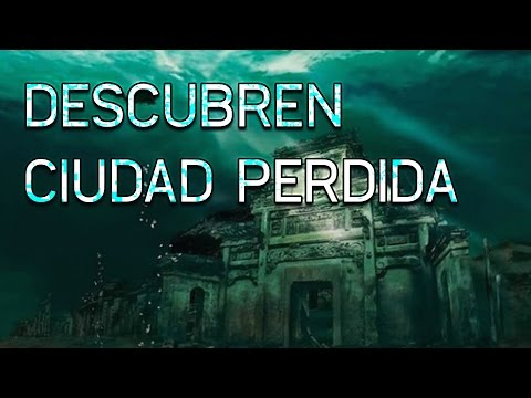 Descubren CIUDAD PERDIDA en el fondo del mar, sumergida misterios ocultos