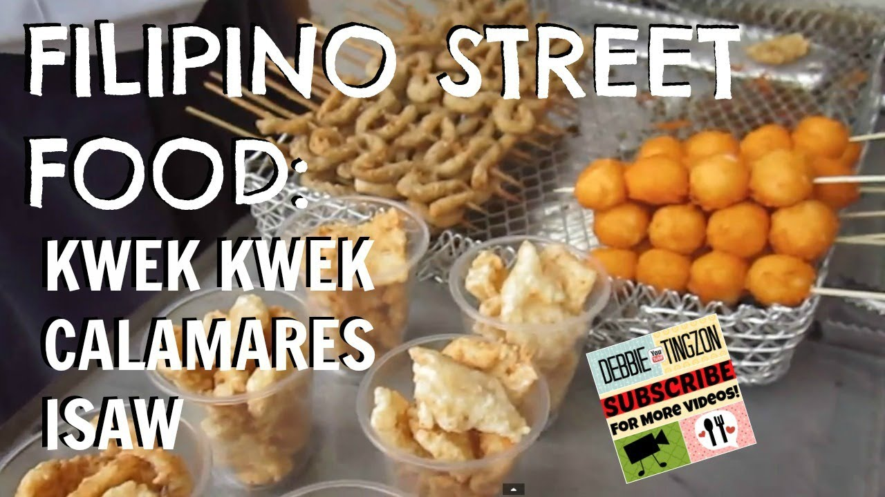 street foods thesis tagalog Thesis about street foods the number one street food that the traveller will  always be asked if they've tried by filipinos would have to be balut.