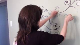 How to Apply Wall Decals