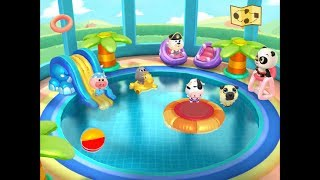 Dr. Panda Swimming Pool Part 2 - iPad app demo for kids - Ellie