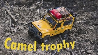 RC car Camel trophy Land rover Defender 90