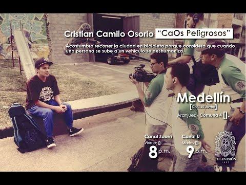 U de A - No te pierdas a CaOs Peligrosos y a sus grafitis en Medellín, ciudad joven por Zoom