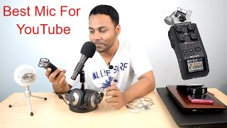 Best And Budget Microphones For YouTube And Studio Recording 2016