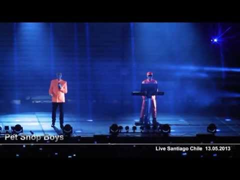 PET SHOP BOYS / West End Girl / Santiago Chile 13.05.2013