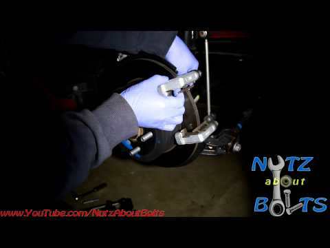 2012-2016 Toyota Camry Rear brakes remove and install